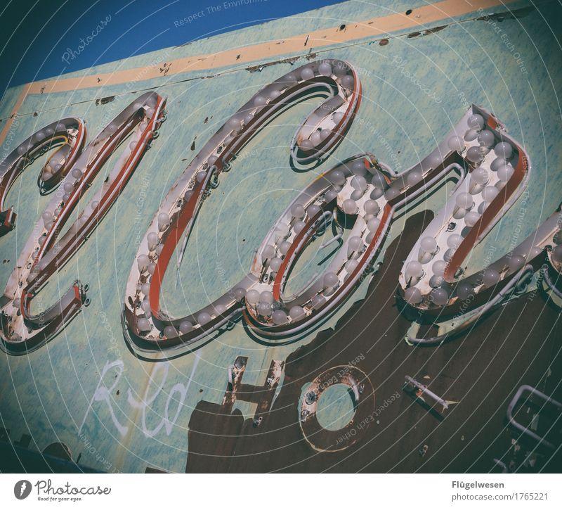 ElCor Lampe Werbebranche Schriftzeichen alt Beleuchtung leuchten Farbe Farbstoff Werbung Neonlicht Leuchtreklame Buchstaben Leuchtbuchstabe Werbeschild werben