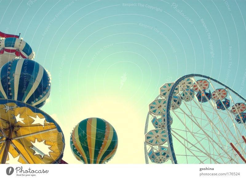 Traumland Freizeit & Hobby Spielen Ferien & Urlaub & Reisen Ausflug Sommer Sonne drehen fahren glänzend gut hell hoch schön blau Freude Glück Fröhlichkeit