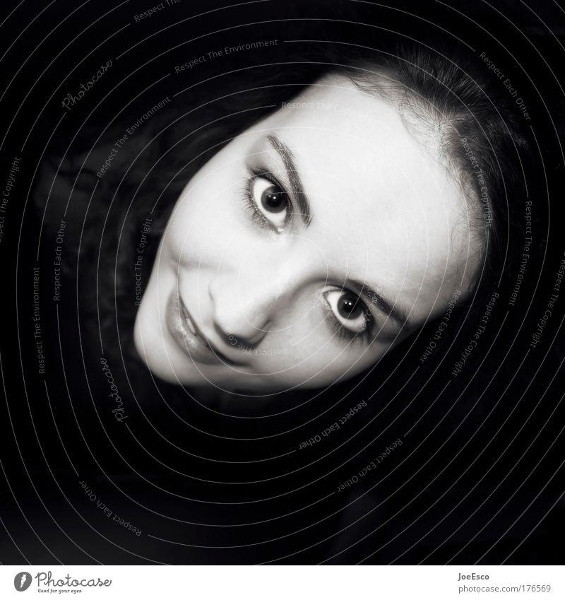 1x1 Frau Mensch Jugendliche schön Gesicht Erwachsene Erholung feminin Kopf Haare & Frisuren Glück Stil Gesundheit Zufriedenheit Haut 18-30 Jahre