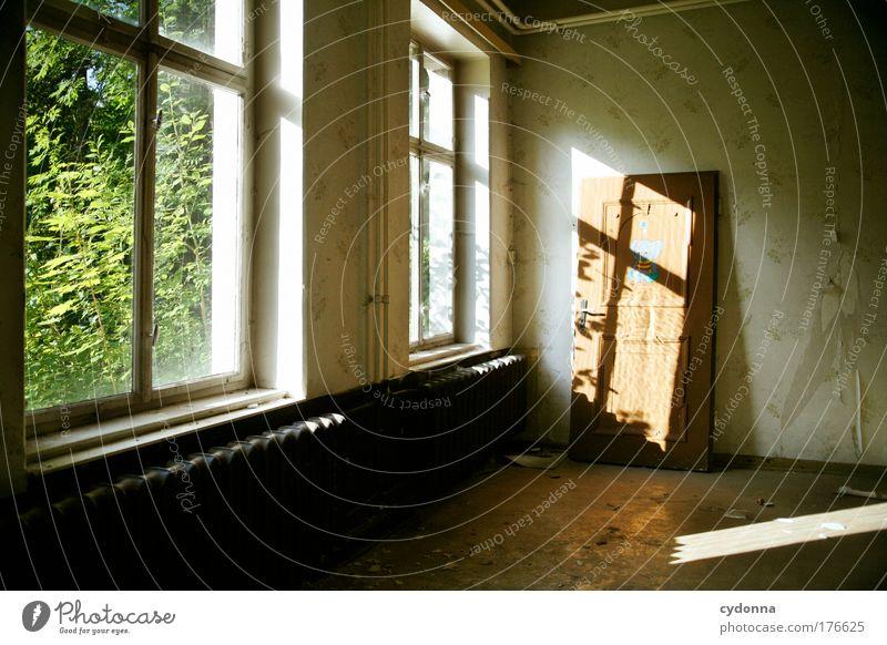 Naturnah Einsamkeit Haus ruhig Umwelt Fenster Leben Wand Architektur Mauer Traurigkeit träumen Innenarchitektur Zeit Tür Raum