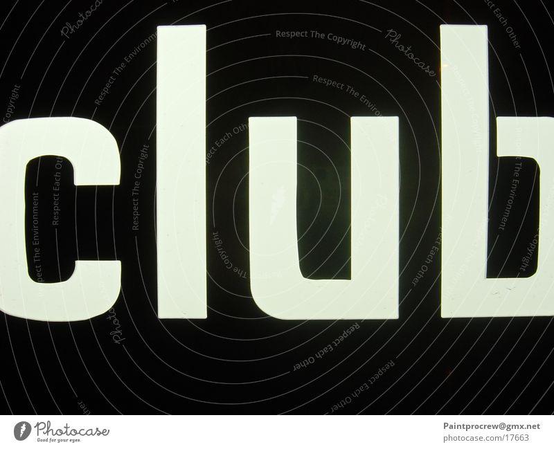 Club Freizeit & Hobby Club Leuchtreklame