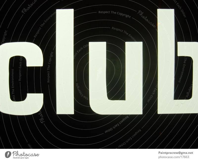 Club Leuchtreklame Freizeit & Hobby