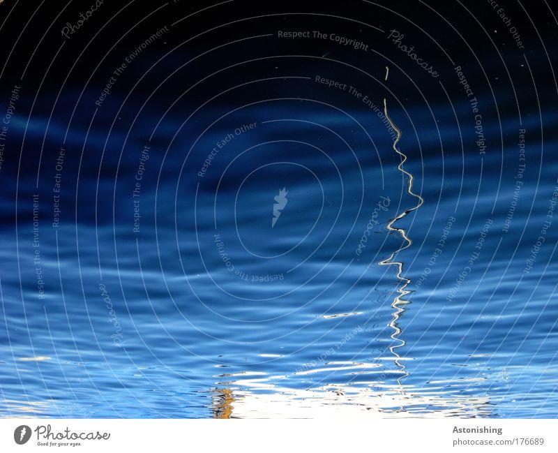 Mastbruch!! Natur Wasser weiß blau Sommer Ferien & Urlaub & Reisen kalt See Wasserfahrzeug Wellen Umwelt nass Seeufer Schönes Wetter gekrümmt