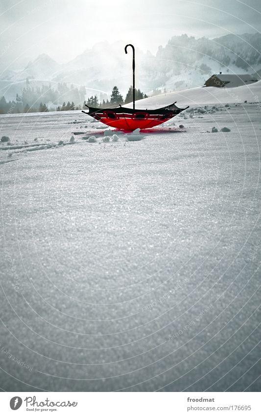 falschrum Winter kalt Schnee Umwelt Berge u. Gebirge Kunst Wetter Nebel frisch ästhetisch authentisch außergewöhnlich Dekoration & Verzierung Coolness