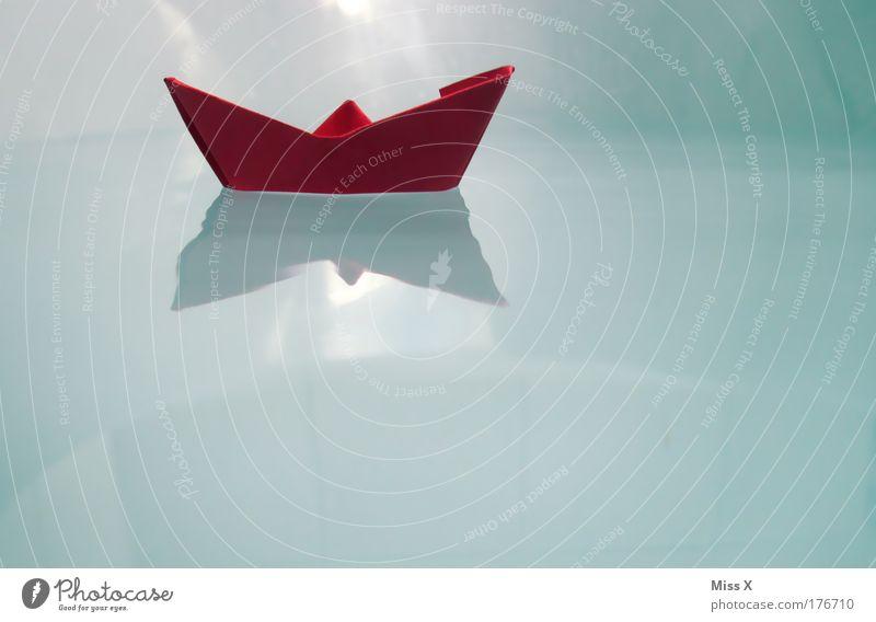 Ahoi Wasser Freude Spielen Wasserfahrzeug Wassertropfen nass Papier Reflexion & Spiegelung Bad Schwimmbad Spielzeug Schwimmen & Baden Badewanne