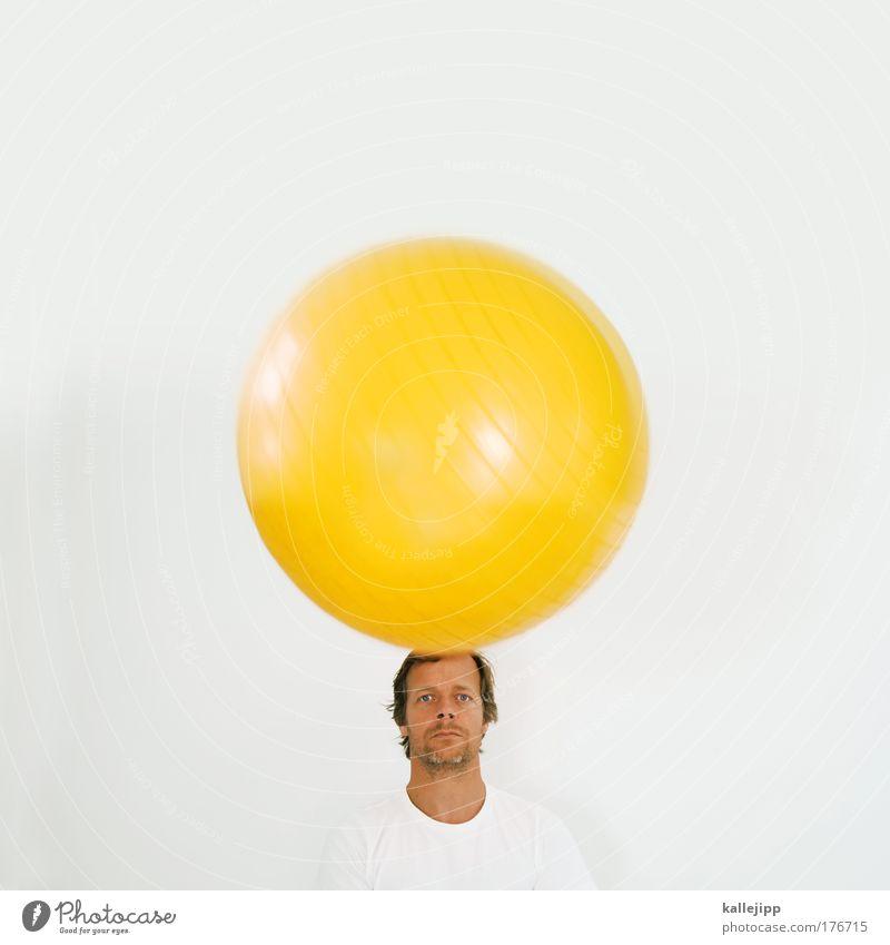 ham & egg Mensch Mann Erwachsene Gesicht Haare & Frisuren Kopf hell Kunst Haut maskulin Mund Nase Ernährung T-Shirt Ohr Ball