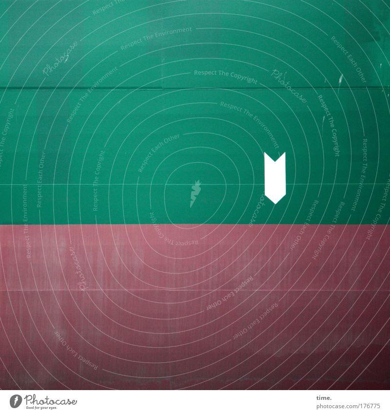 [KI09.1] - Point Of Interest weiß grün rot Wasserfahrzeug Hafen Zeichen Symbole & Metaphern Büchse Schweißnaht Bordwand