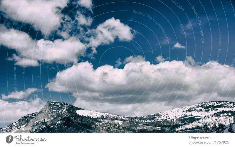 Schnee USA Berge Freizeit & Hobby Ferien & Urlaub & Reisen Tourismus Ausflug Abenteuer Ferne Winter Winterurlaub Berge u. Gebirge wandern Skifahren Frühling