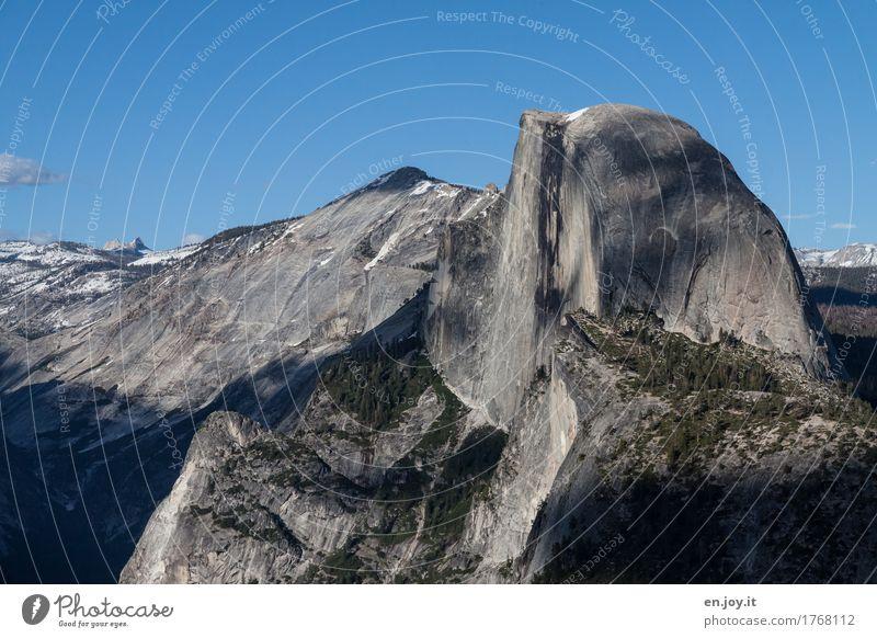Bessere Hälfte Ferien & Urlaub & Reisen Abenteuer Ferne Freiheit Sommerurlaub Berge u. Gebirge Natur Landschaft Wolkenloser Himmel Klima Klimawandel Felsen