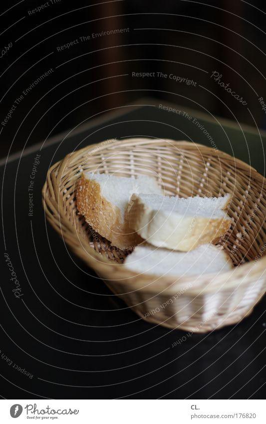 brotkorb Lebensmittel Ernährung Tisch einfach Appetit & Hunger Brot Restaurant Langeweile Mittagessen Fasten Ausdauer Büffet Vegetarische Ernährung Brunch bescheiden sparsam