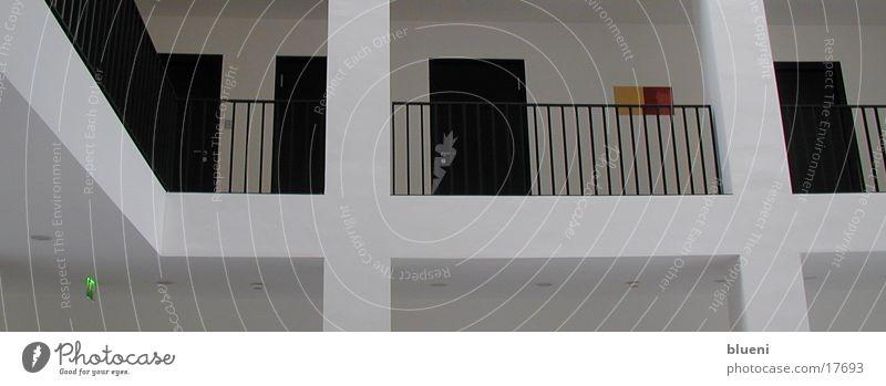 Schwarz/Weiß weiß schwarz Architektur