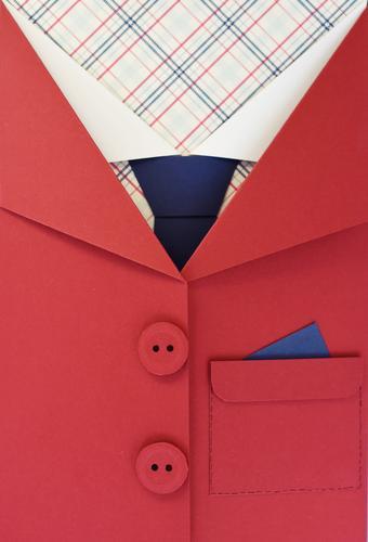 GutAngezogen_1769404 Lifestyle elegant Stil Mode Bekleidung Krawatte Geschäftsmann Geschäftsleute Geschäftspartner Jacke Business kariert Hemd rot markant