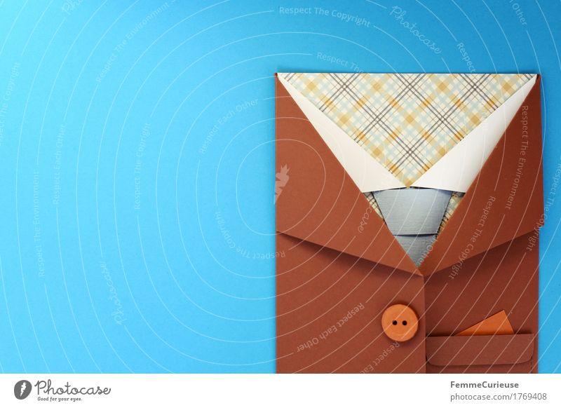 GutAngezogen_1769408 Lifestyle Stil Mode Bekleidung Hemd Krawatte ästhetisch Jacke Hemdkragen kariert Knöpfe Einstecktuch Hintergrund neutral himmelblau