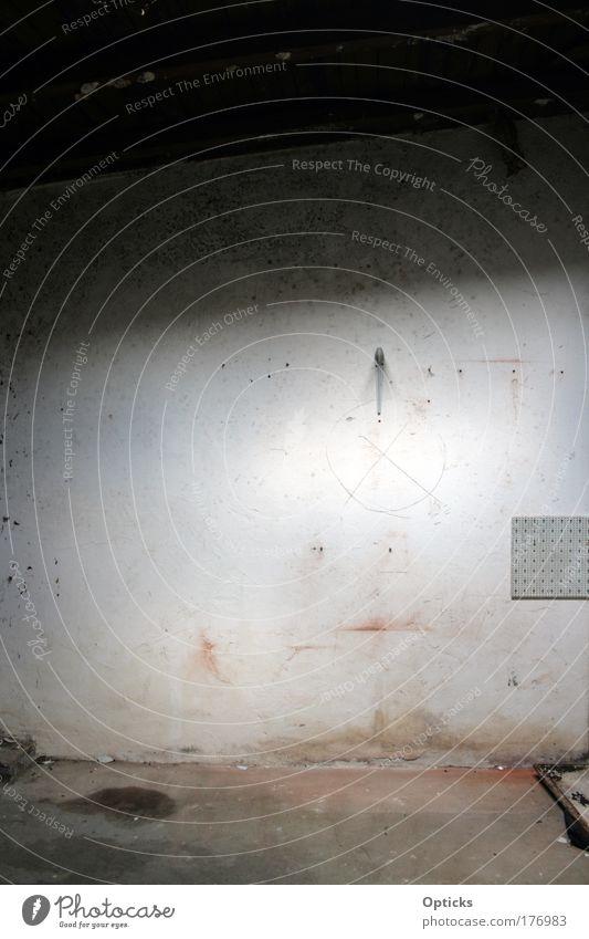 Wandbild Gedeckte Farben Innenaufnahme Strukturen & Formen Menschenleer Haus Traumhaus Ruine Bauwerk Gebäude Mauer Stein Sand Rost Backstein alt außergewöhnlich