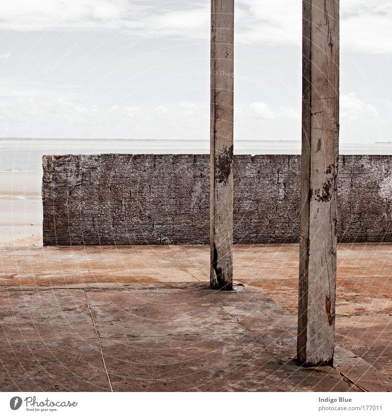 alt Ferien & Urlaub & Reisen Haus Erholung Wand Traurigkeit Mauer Zufriedenheit Stimmung Architektur ästhetisch Warmherzigkeit Hütte Terrasse Nostalgie Brasilien