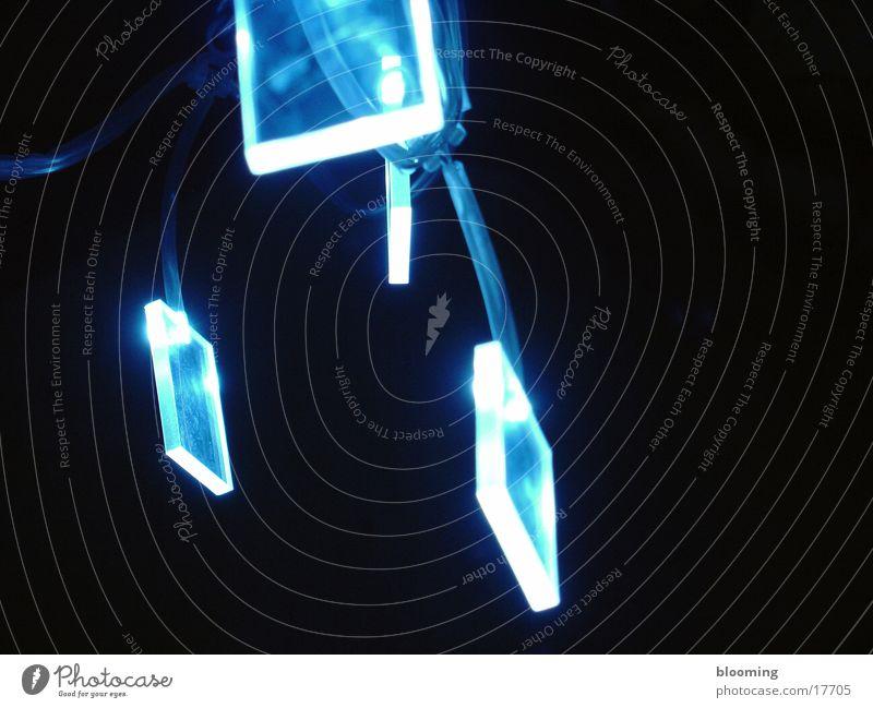 blue light 2 Lampe Diode dunkel Licht Nacht Häusliches Leben blau