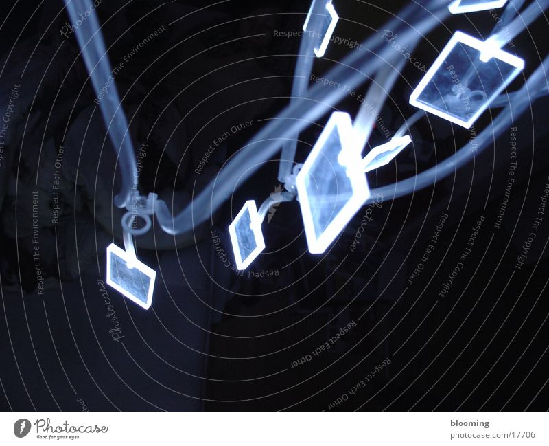 blue light 3 blau Lampe dunkel Häusliches Leben Elektronik Diode