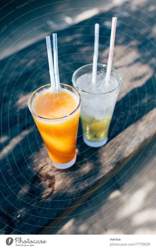 Zanzibar IX Lebensmittel Getränk Erfrischungsgetränk Trinkwasser Limonade Saft Alkohol Longdrink Cocktail Glas Trinkhalm Tourismus Ferien & Urlaub & Reisen