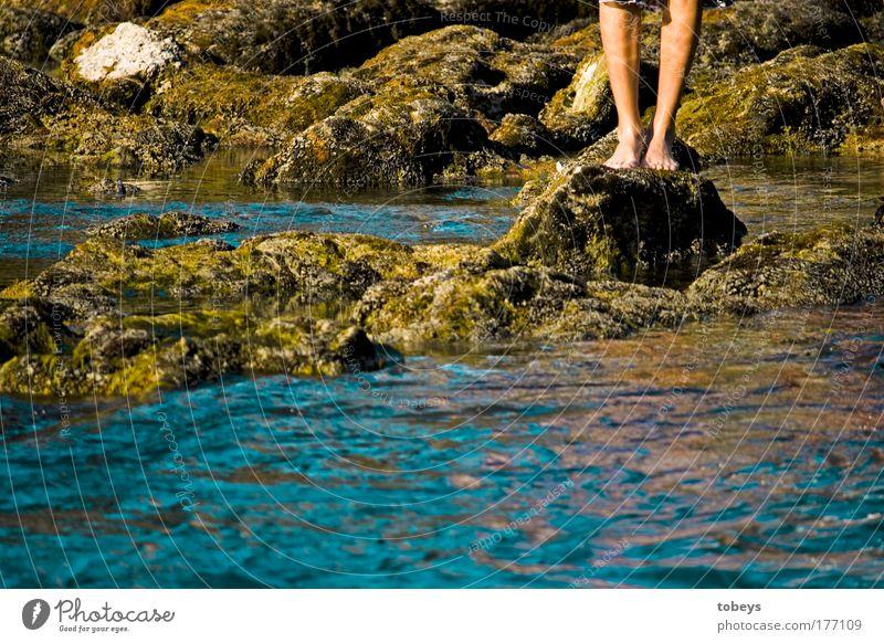 13° Natur Ferien & Urlaub & Reisen Wasser Sommer Freude Erholung kalt See Schwimmen & Baden Felsen Schönes Wetter Fluss genießen Seeufer tauchen Sommerurlaub