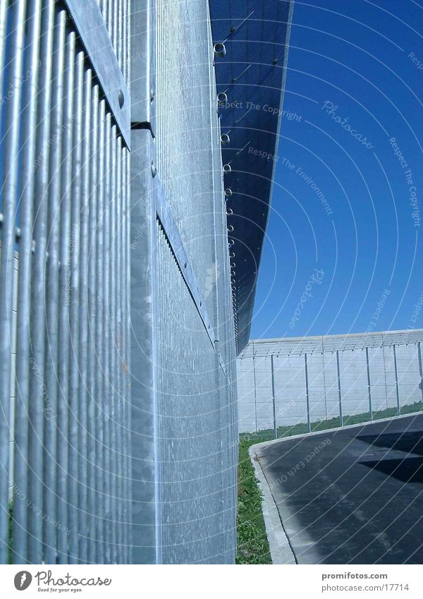 Gefängniszaun Dinge Zaun Justizvollzugsanstalt Allgäu