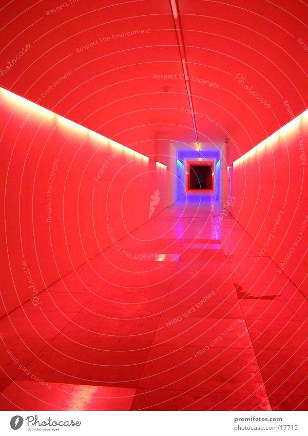 Lichttunnel Farbe Lampe Dinge Tunnel