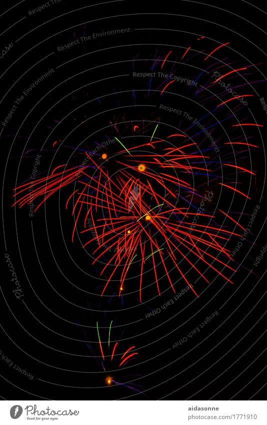 Feuerwerk Freude Glück Feste & Feiern Party Musik Fröhlichkeit Hochzeit Veranstaltung Silvester u. Neujahr Jahrmarkt Nachtleben Entertainment