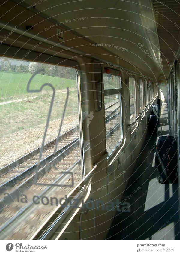 2. Klasse / Zug Ferien & Urlaub & Reisen Verkehr Eisenbahn Eisenbahnwaggon Zweite Klasse