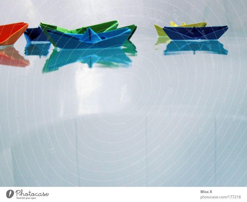 Ahoi III Wasser Freude Meer Wasserfahrzeug lustig Spielzeug nass Wassertropfen Papier Schwimmen & Baden Schwimmbad niedlich Badewanne Ferien & Urlaub & Reisen