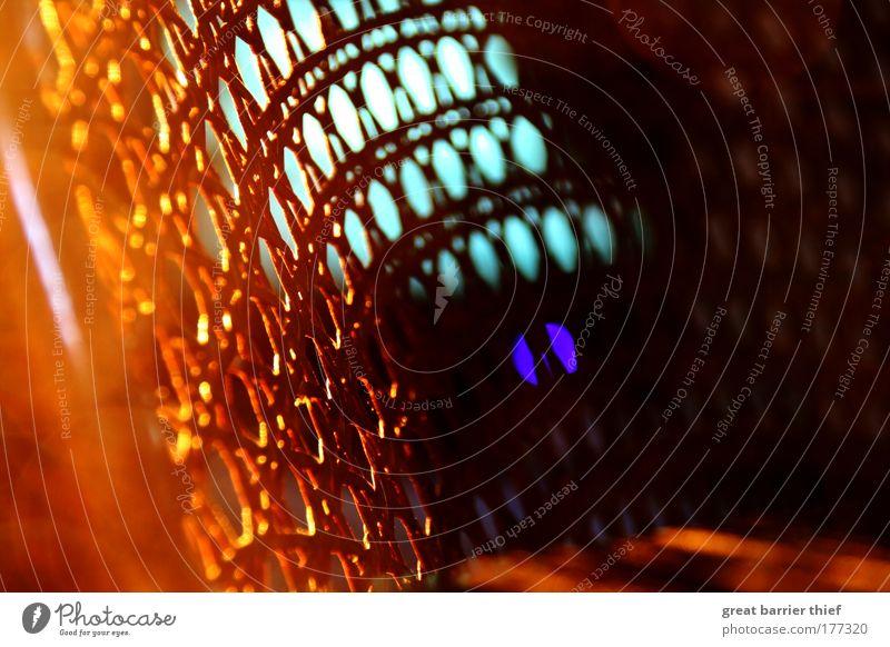 gitter tv Raum orange glänzend Gold Fernseher Stuhl Fernsehen Möbel Gitter schimmern Inspiration