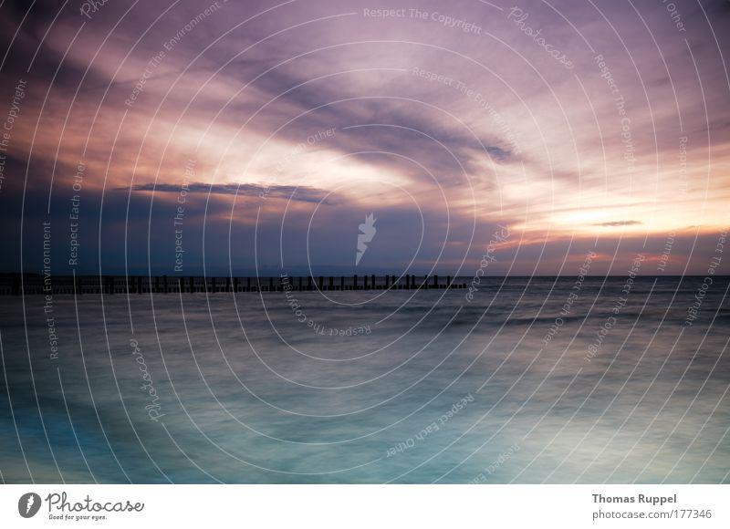 50 Natur Wasser schön Himmel Meer grün blau Sommer Strand Ferien & Urlaub & Reisen Wolken Freiheit Zufriedenheit Stimmung Kraft Wellen