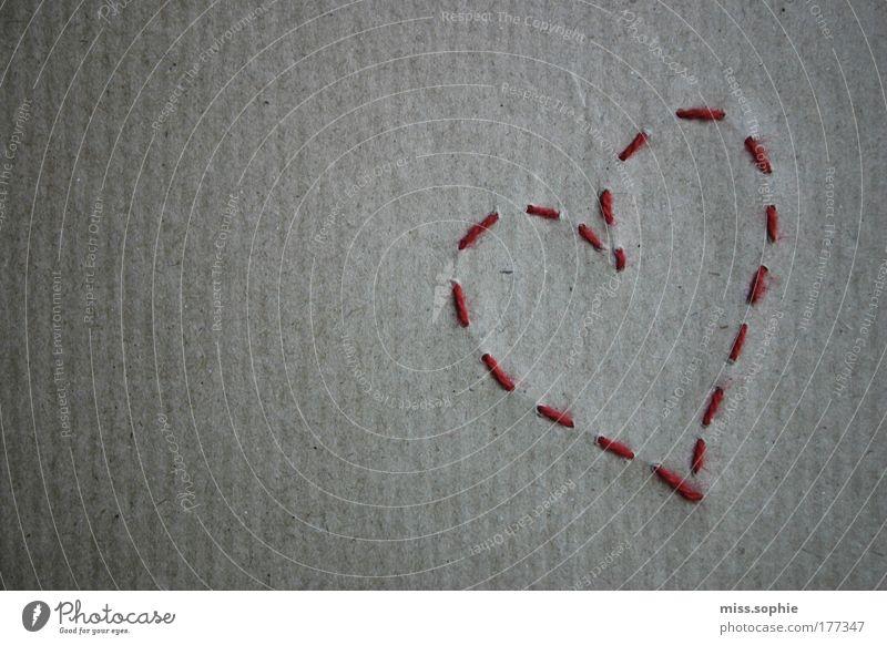herzensangelegenheit schön rot Einsamkeit Liebe Gefühle Glück Denken Zusammensein Papier Sehnsucht Freundlichkeit Schmerz Leidenschaft Zusammenhalt Trennung