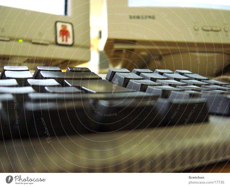 RedRobot Computer Arbeit & Erwerbstätigkeit Bildschirm Elektrisches Gerät Technik & Technologie Tastatur Business