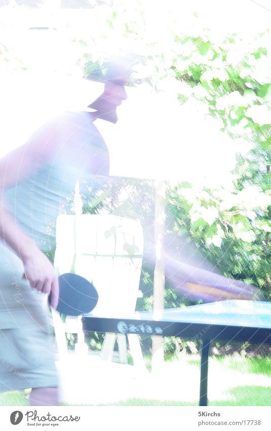 tischtennis Mensch Sommer Sport Bewegung Tischtennis