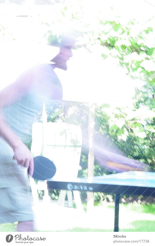 tischtennis Tischtennis Mensch Sommer Unschärfe Sport Bewegung