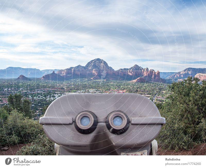 Weitblick Ferien & Urlaub & Reisen Tourismus Ausflug Abenteuer Ferne Freiheit Sightseeing Sommer Berge u. Gebirge Natur Landschaft Himmel Wolken Hügel Felsen
