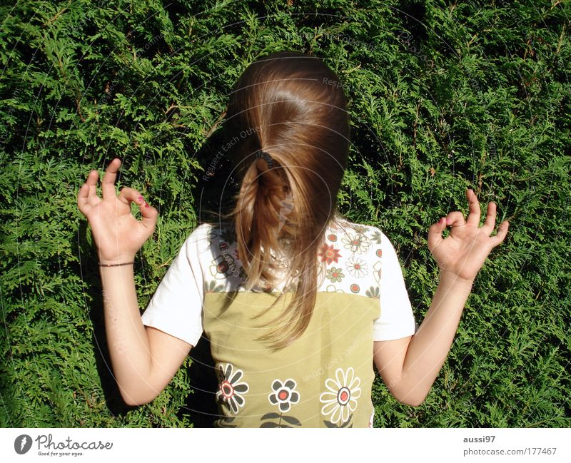 Verdreh mir den Kopf! Freude Spielen Haare & Frisuren Meditation drehen Vorhang falsch Zauberei u. Magie kopflos verdreht verkehrt