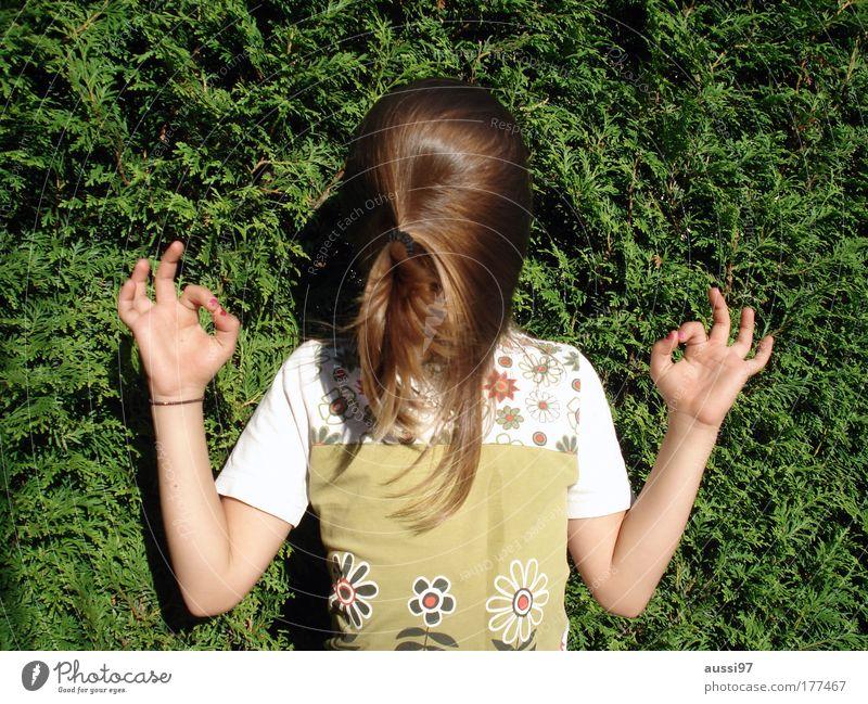 Verdreh mir den Kopf! Haare & Frisuren Vorhang Freude Meditation Spielen kopflos drehen verdreht verkehrt falsch Zauberei u. Magie