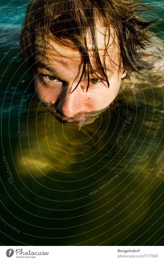 abtauchen Mensch Jugendliche Ferien & Urlaub & Reisen Sonne Meer Sommer Ferne Auge Leben Freiheit See Wellen Schwimmen & Baden Freizeit & Hobby nass Ausflug