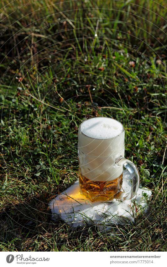 Oktoberfest - Wiesn grün Wiese Gras Lebensmittel Feste & Feiern Deutschland Glas ästhetisch Getränk lecker Bioprodukte Frühstück Bier Erfrischung Bayern