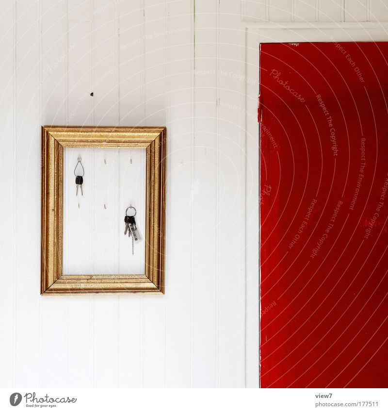 Erinnerung Holz Linie Raum Dekoration & Verzierung Innenarchitektur Wohnzimmer Schlüssel Rahmen Bilderrahmen einrichten