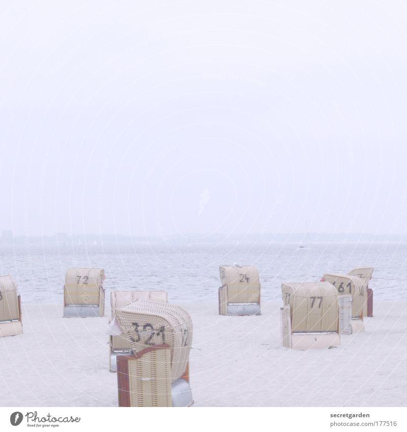 [KI09.1] 321 oder77? blau Ferien & Urlaub & Reisen weiß Sommer Meer Strand Einsamkeit ruhig Erholung Ferne hell Horizont groß Tourismus leer Idylle