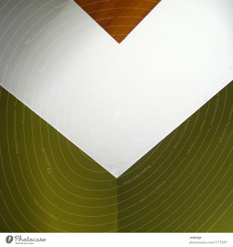 v weiß grün Wand Stil Holz Mauer braun Architektur Design elegant Beton ästhetisch einfach Sauberkeit einzigartig