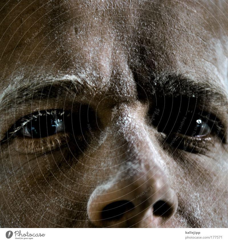 krabat Gesicht Auge Ernährung Arbeit & Erwerbstätigkeit Haare & Frisuren Kopf Haut Erwachsene Lebensmittel maskulin Nase Baustelle Getreide Handwerker Handwerk Backwaren