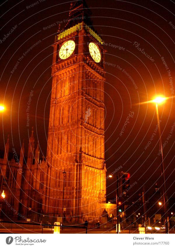 big ben Beleuchtung Architektur London Großbritannien Big Ben