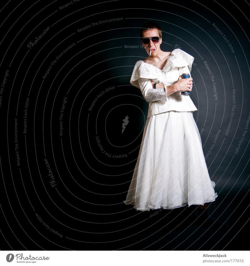 In guten wie in schlechten Zeiten Mensch Jugendliche weiß schwarz Erwachsene feminin lustig Junger Mann Mode 18-30 Jahre warten maskulin ästhetisch Bekleidung
