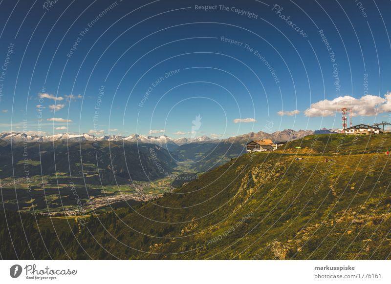 kronplatz südtirol Ferien & Urlaub & Reisen Erholung ruhig Freude Ferne Berge u. Gebirge Freiheit Felsen Tourismus Freizeit & Hobby Zufriedenheit Ausflug