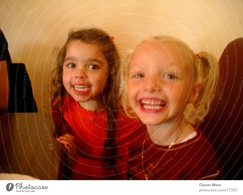 kinderglück Kind Glück lachen Feste & Feiern Zähne grinsen Gesicht
