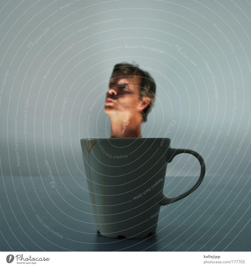 kaffeduft Farbfoto Gedeckte Farben Innenaufnahme Studioaufnahme Nahaufnahme Detailaufnahme Experiment Textfreiraum unten Textfreiraum Mitte Kunstlicht Licht