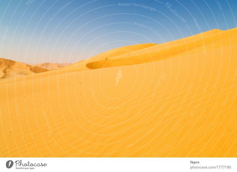 das leere Viertel und im Freien schön Ferien & Urlaub & Reisen Tourismus Abenteuer Safari Sommer Sonne Natur Landschaft Sand Himmel Horizont Park Hügel Felsen