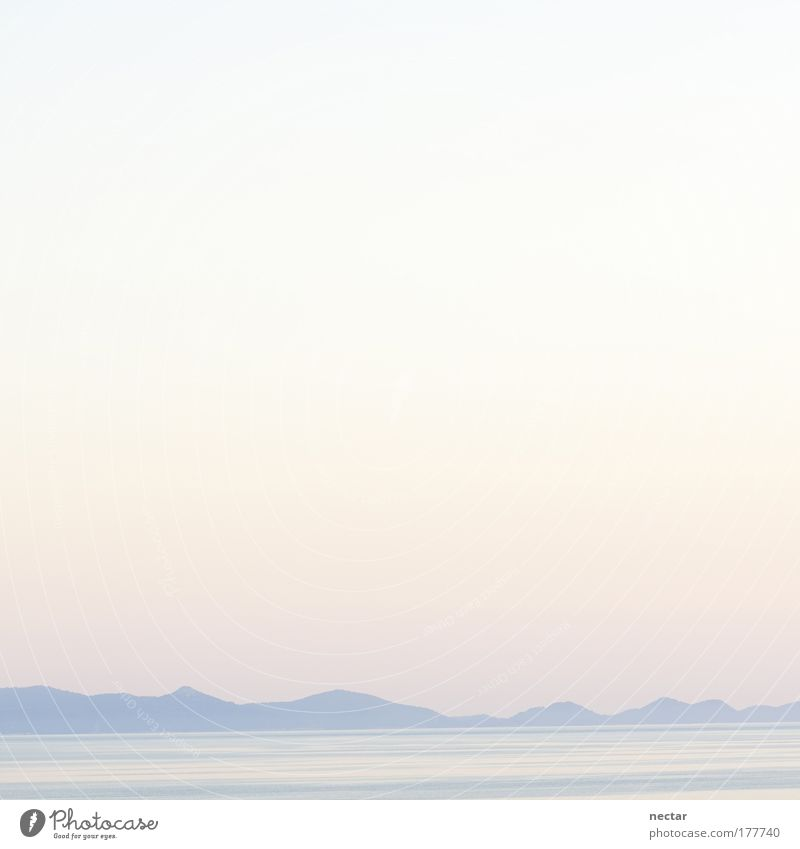 be in the pink Himmel Natur Wasser Sonne Sommer Meer Winter Umwelt Landschaft Berge u. Gebirge Wärme Glück Luft Horizont groß Insel